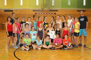 Volleyball-Camp Irnfritz 2013