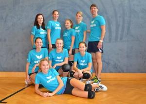U19-Mädls sammeln ihre erste Matcherfahrung
