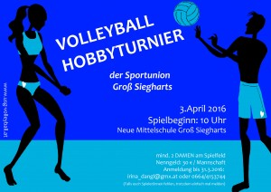 Volleyball Hobbyturnier