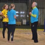 Training mit Schwaiger/Hansel