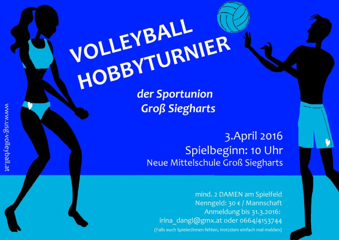 Volleyball Hobbyturnier